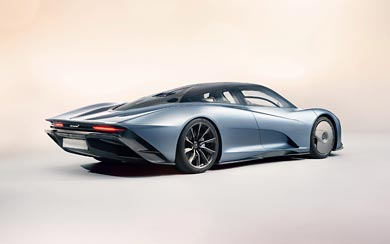 2020 McLaren Speedtail thumbnail.