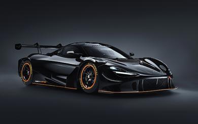 2021 McLaren 720S GT3X wallpaper thumbnail.