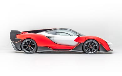 2021 McLaren Sabre by MSO wallpaper thumbnail.