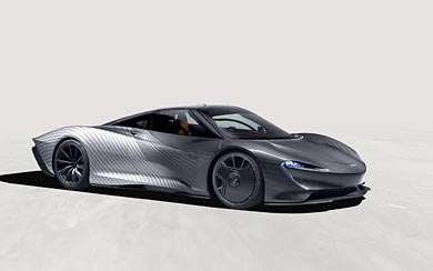 2021 McLaren Speedtail Albert by MSO wallpaper thumbnail.