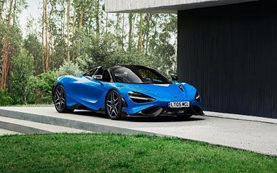 2022 McLaren 765LT Spider wallpaper thumbnail.
