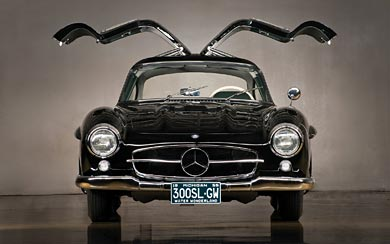 1954 Mercedes-Benz 300 SL Gullwing wallpaper thumbnail.