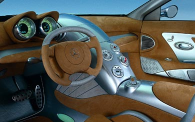 1999 Mercedes-Benz Vision SLR Concept wallpaper thumbnail.