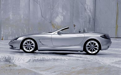 1999 Mercedes-Benz Vision SLR Roadster Concept wallpaper thumbnail.