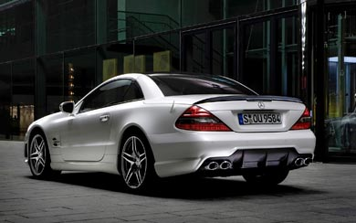 2008 Mercedes-Benz SL 63 AMG wallpaper thumbnail.