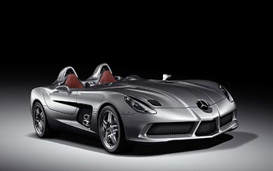 2009 Mercedes-Benz McLaren SLR Stirling Moss wallpaper thumbnail.