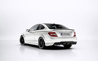 2011 Mercedes-Benz C63 AMG Coupe wallpaper thumbnail.