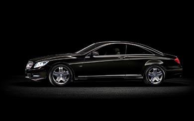 2011 Mercedes-Benz CL Class wallpaper thumbnail.