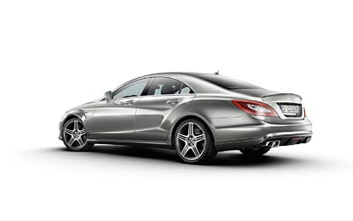 2011 Mercedes-Benz CLS 63 AMG wallpaper thumbnail.