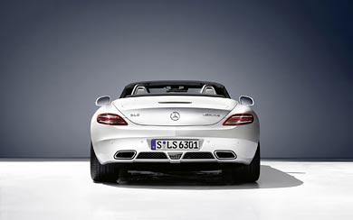2011 Mercedes-Benz SLS AMG Roadster wallpaper thumbnail.
