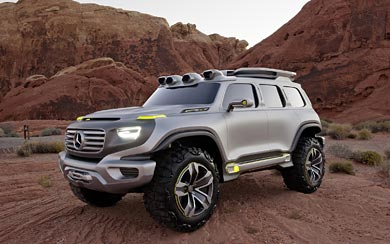 2012 Mercedes-Benz Ener-G-Force Concept wallpaper thumbnail.