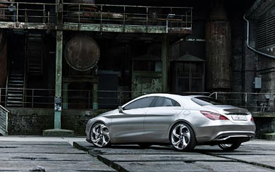 2012 Mercedes-Benz Style Coupe Concept wallpaper thumbnail.