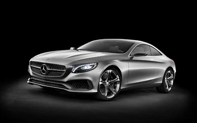 2013 Mercedes-Benz S-Class Coupe Concept wallpaper thumbnail.