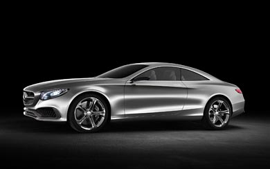 2013 Mercedes-Benz S-Class Coupe Concept wallpaper thumbnail.