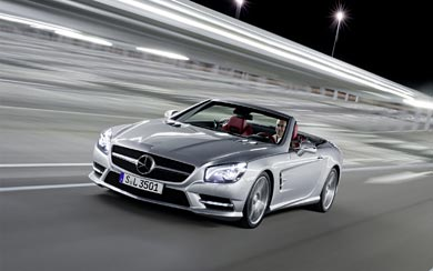 2013 Mercedes-Benz SL 500 wallpaper thumbnail.