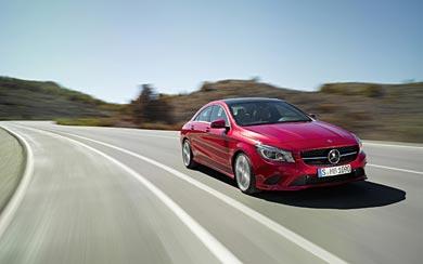 2014 Mercedes-Benz CLA-CLass wallpaper thumbnail.