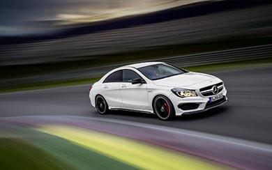 2014 Mercedes-Benz CLA45 AMG wallpaper thumbnail.