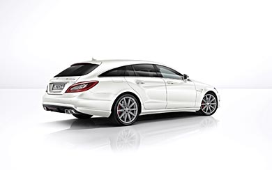 2014 Mercedes-Benz CLS63 AMG S-Model wallpaper thumbnail.