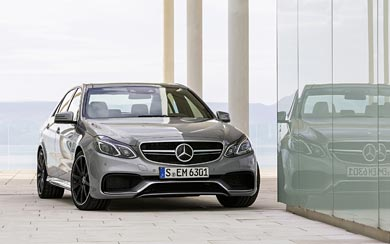 2014 Mercedes-Benz E63 AMG wallpaper thumbnail.