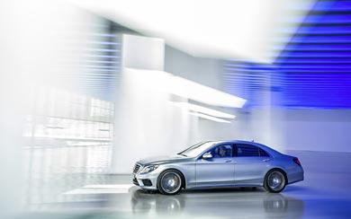 2014 Mercedes-Benz S63 AMG wallpaper thumbnail.