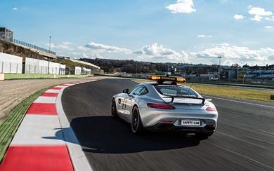 2015 Mercedes-AMG GT S F1 Safety Car wallpaper thumbnail.