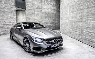 2015 Mercedes-Benz S-Class Coupe wallpaper thumbnail.