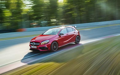 2016 Mercedes-Benz A45 AMG 4Matic wallpaper thumbnail.