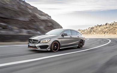 2016 Mercedes-Benz CLA Shooting Brake wallpaper thumbnail.