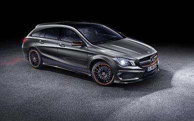 2016 Mercedes-Benz CLA45 AMG Shooting Brake wallpaper thumbnail.