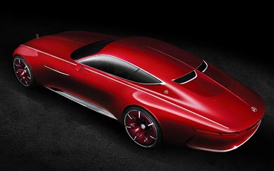 2016 Mercedes-Benz Vision Maybach 6 Concept wallpaper thumbnail.