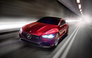 2017 Mercedes-AMG GT Concept wallpaper thumbnail.