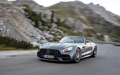 2017 Mercedes-AMG GT C Roadster wallpaper thumbnail.