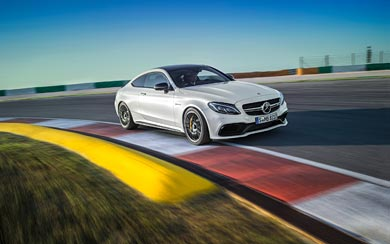 2017 Mercedes-Benz C63 AMG Coupe wallpaper thumbnail.