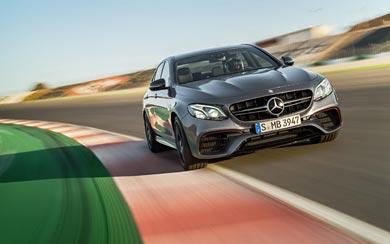 2017 Mercedes-Benz E63 AMG wallpaper thumbnail.