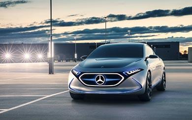 2017 Mercedes-Benz EQA Concept wallpaper thumbnail.