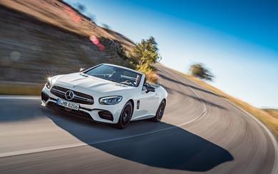 2017 Mercedes-Benz SL63 AMG wallpaper thumbnail.
