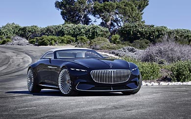 2017 Mercedes-Maybach Vision 6 Cabriolet Concept wallpaper thumbnail.