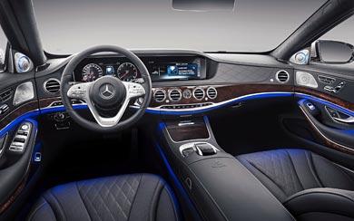 2018 Mercedes-Maybach S650 wallpaper thumbnail.