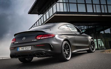 2019 Mercedes-AMG C63 S wallpaper thumbnail.