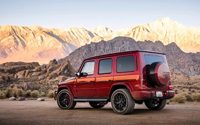 2019 Mercedes-AMG G63 wallpaper thumbnail.