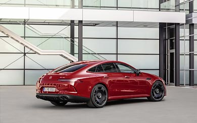 2019 Mercedes-AMG GT43 4-Door wallpaper thumbnail.
