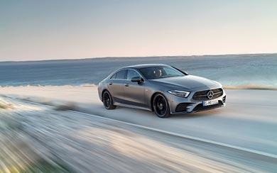 2019 Mercedes-Benz CLS wallpaper thumbnail.