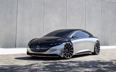 2019 Mercedes-Benz Vision EQS Concept wallpaper thumbnail.