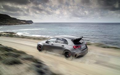 2020 Mercedes-AMG A45 wallpaper thumbnail.