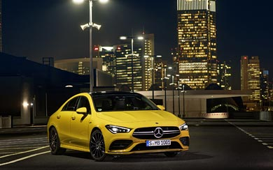 2020 Mercedes-AMG CLA35 wallpaper thumbnail.