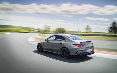 2020 Mercedes-AMG CLA45 wallpaper thumbnail.
