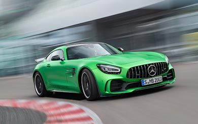 2020 Mercedes-AMG GT R wallpaper thumbnail.