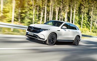 2020 Mercedes-Benz EQC wallpaper thumbnail.
