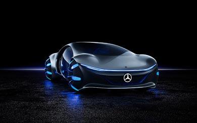 2020 Mercedes-Benz Vision AVTR Concept wallpaper thumbnail.