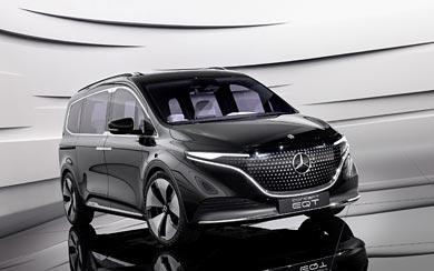 2021 Mercedes-Benz EQT Concept wallpaper thumbnail.